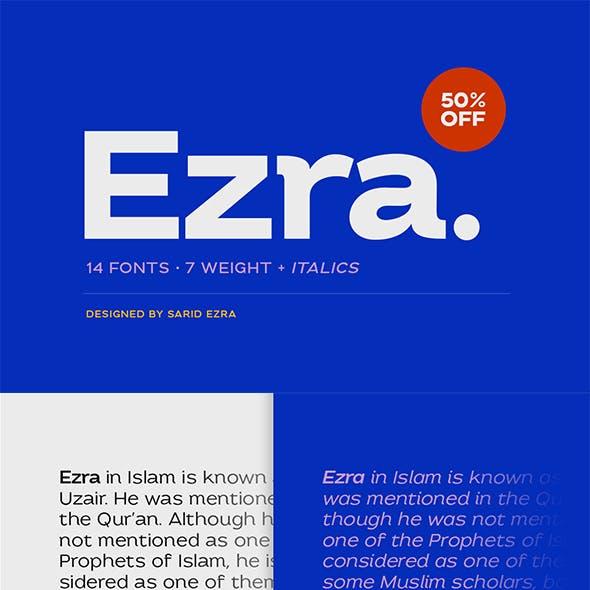 Ezra - Modern Sans