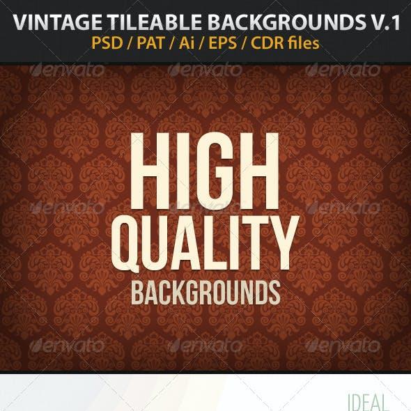 Vintage Tileable Backgrounds v1