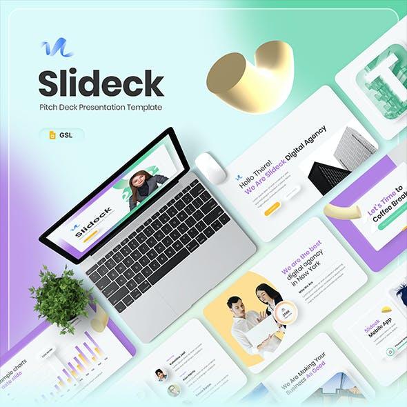 Slideck - Pitch Deck Google Slides Presentation Template