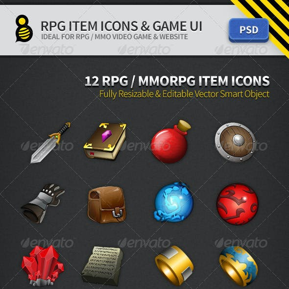 Game User UI Templates from GraphicRiver
