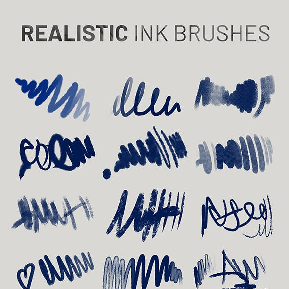 Real Ink Brushes vol. 1
