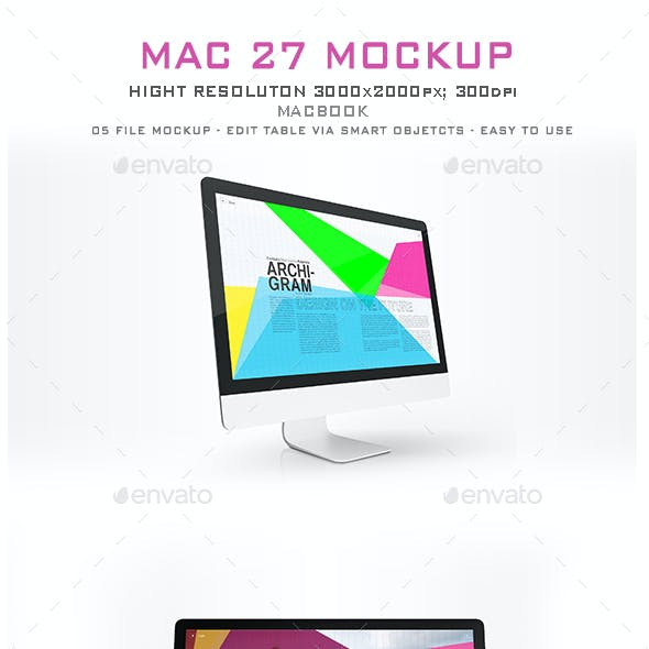 Mac 27 Mockup