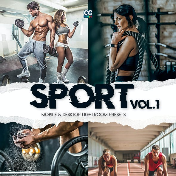 Sport Lightroom Presets Vol. 1 - 15 Premium Lightroom Presets