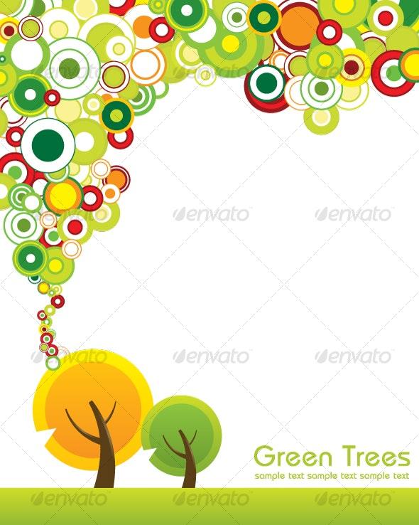Green Tree - Characters Vectors