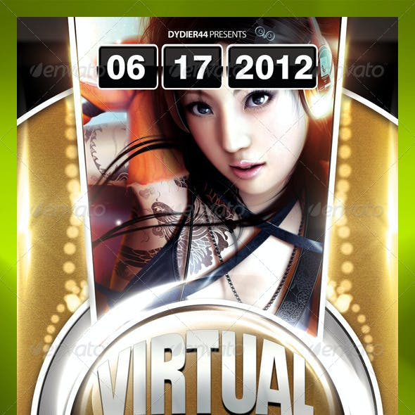 Virtual Reality (Flyer Template 4x6)