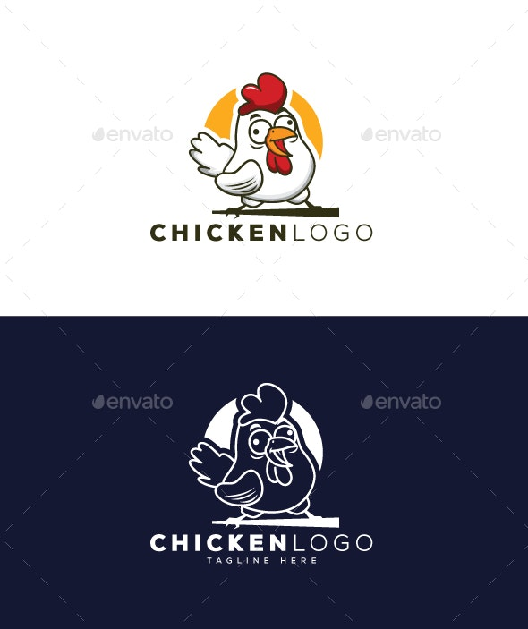 Chicken Logo - Animals Logo Templates