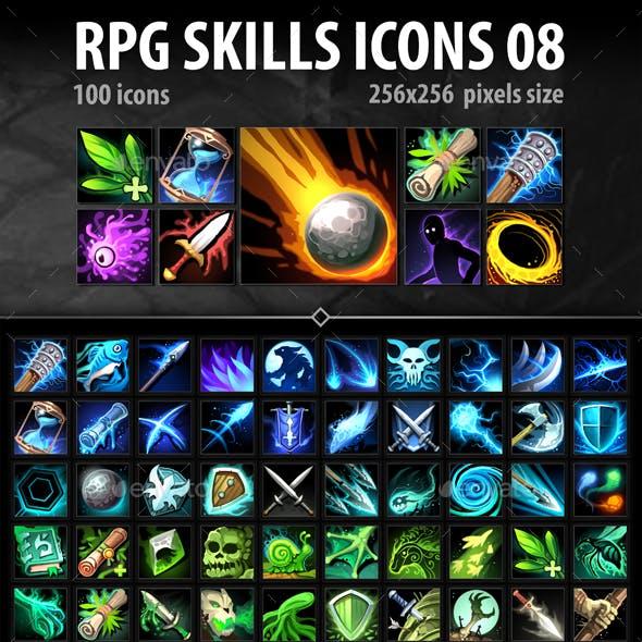 RPG Skills Icons 08