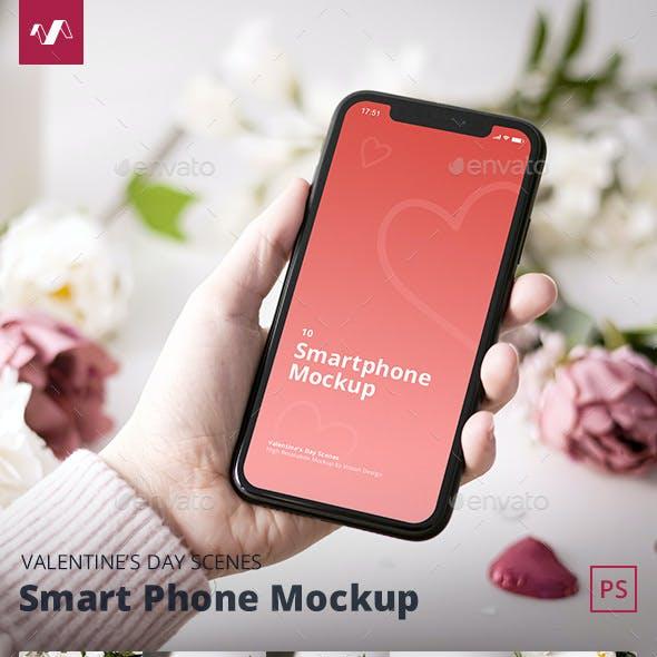 Valentines Day Phone Mockup