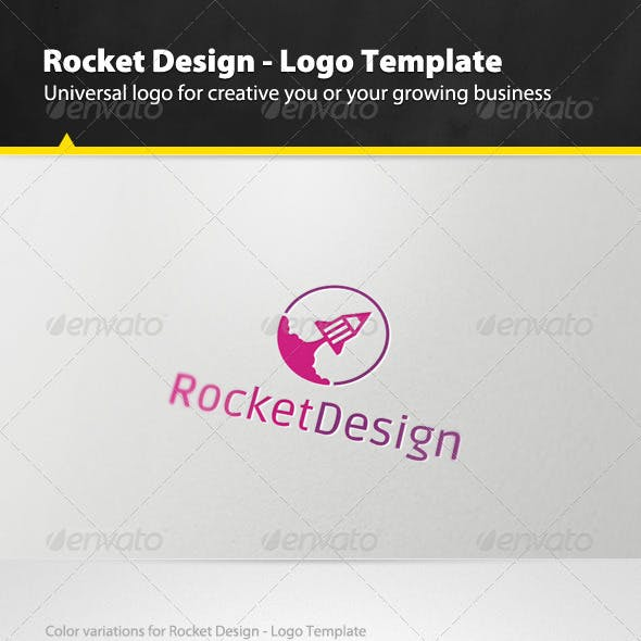 Rocket Design - Logo Template