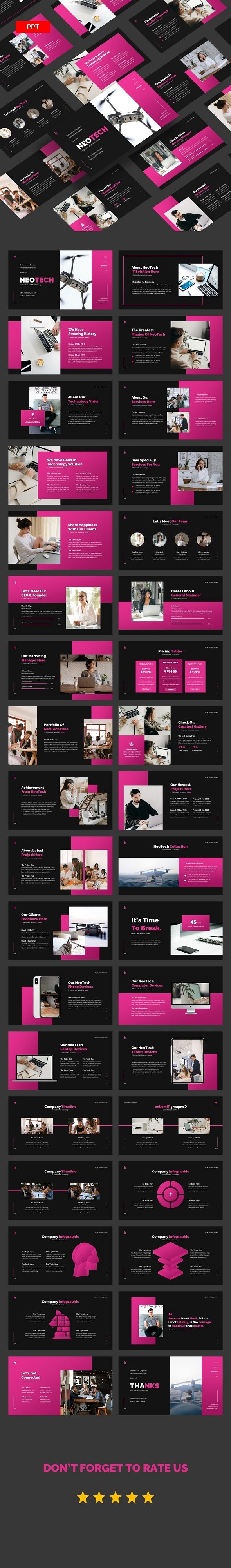 NeoTech IT Solution And Technology - PowerPoint UP - Creative PowerPoint Templates