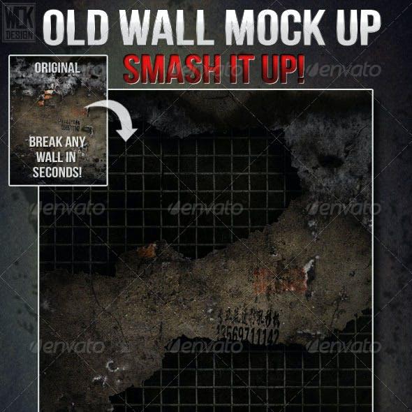 Old Destructible Wall Mock Up