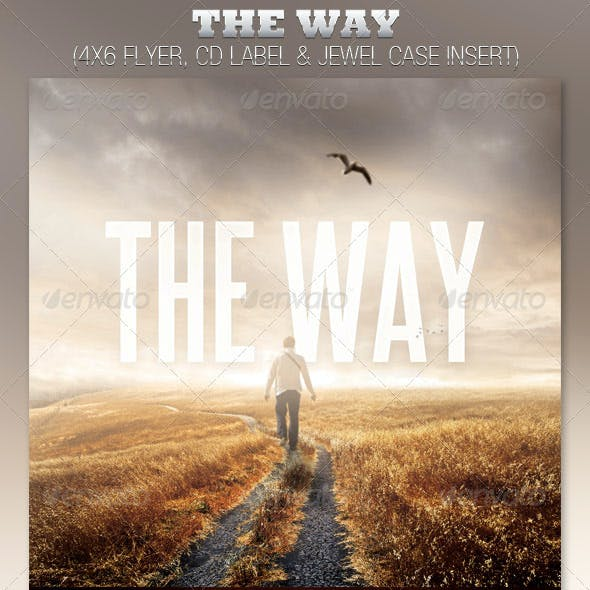 The Way Church Flyer and CD Template