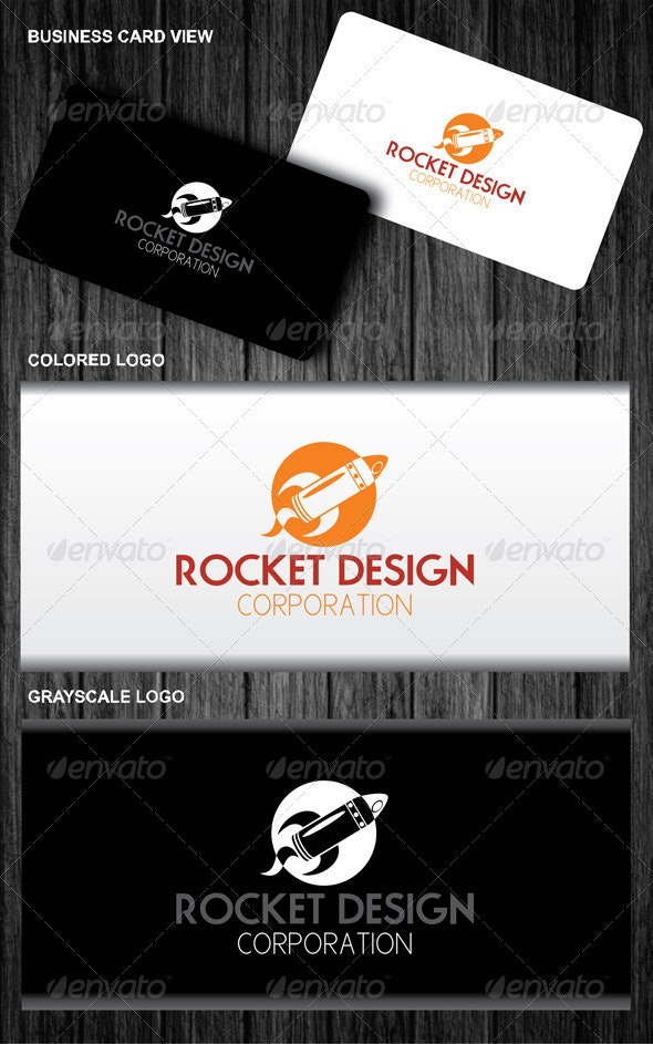 Rocket Design Corporation Logo - Symbols Logo Templates