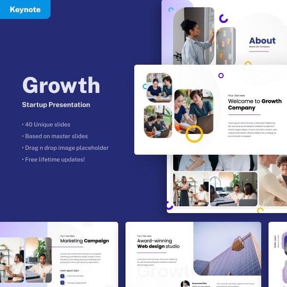 Growth - Startup Keynote Presentation