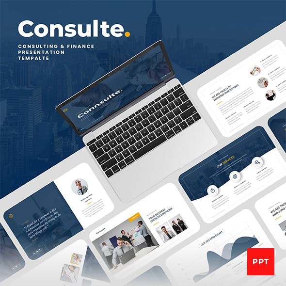 Consulte - Consulting & Finance PowerPoint Presentation Template