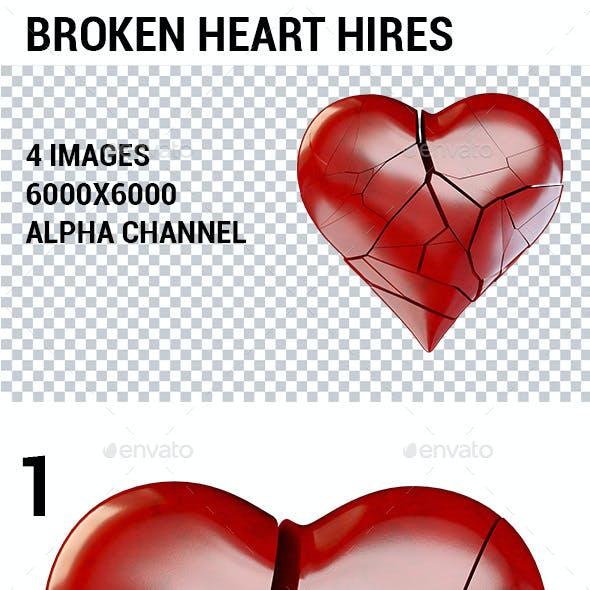 Heart broken 3 Ways