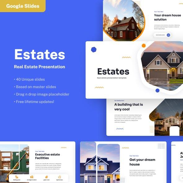 Estates - Real Estate Google Slides Presentation
