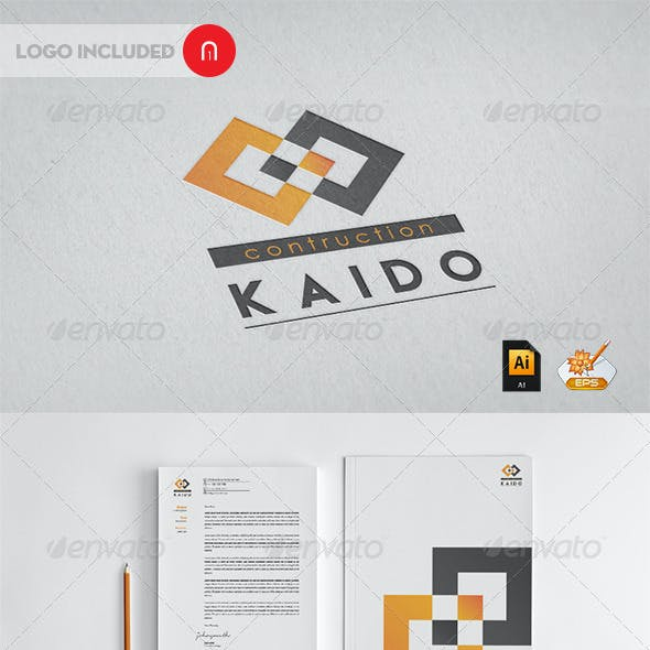 Kaido contruction professional Corporate Identity