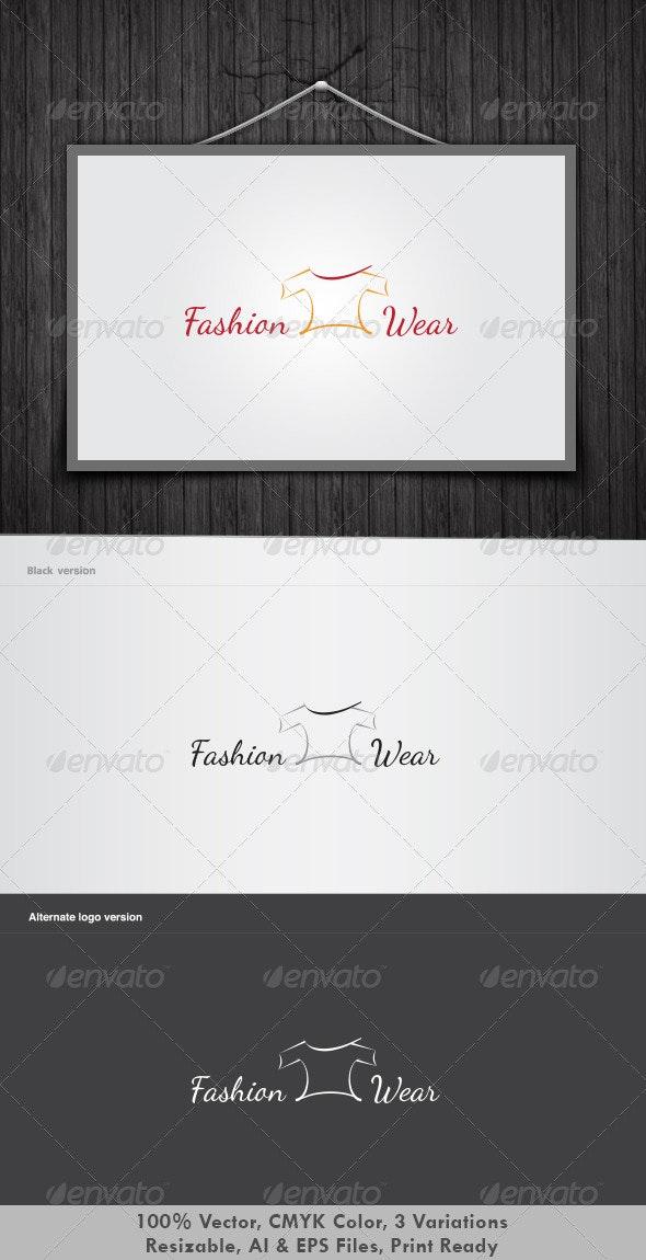 Fashion Wear Logo - Objects Logo Templates