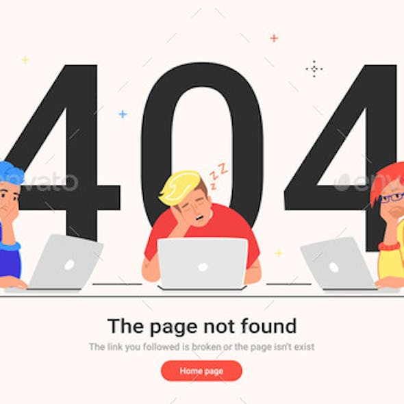 The Page Not Found 404 Error