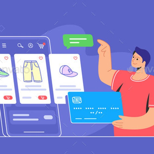 Online Store Ecommerce Mobile App Usage By