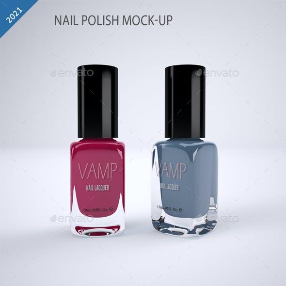 Nail Polish Mock-Up