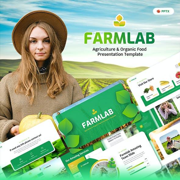 Farmlab - Agriculture & Organic Food PowerPoint Presentation Template