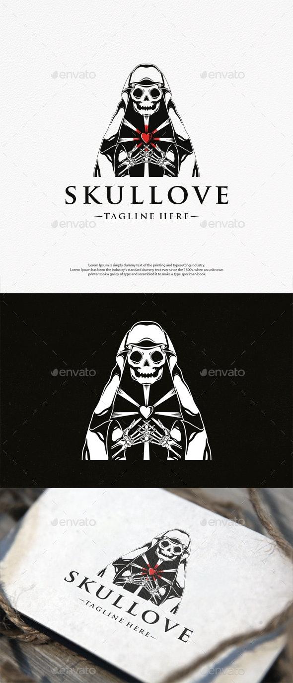 Death Dealer Love Logo Template - Humans Logo Templates