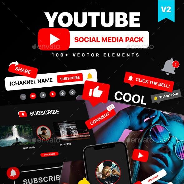 Youtube Social Media Pack