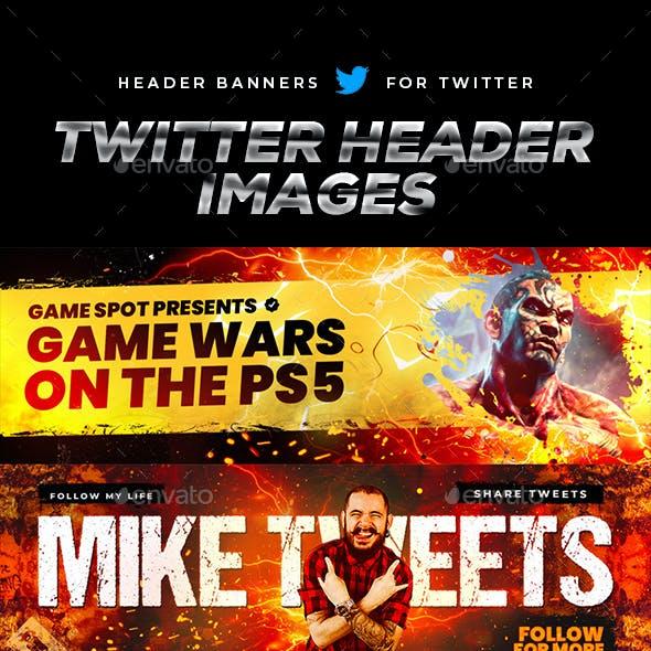 Epic Twitter Header Images Set 1