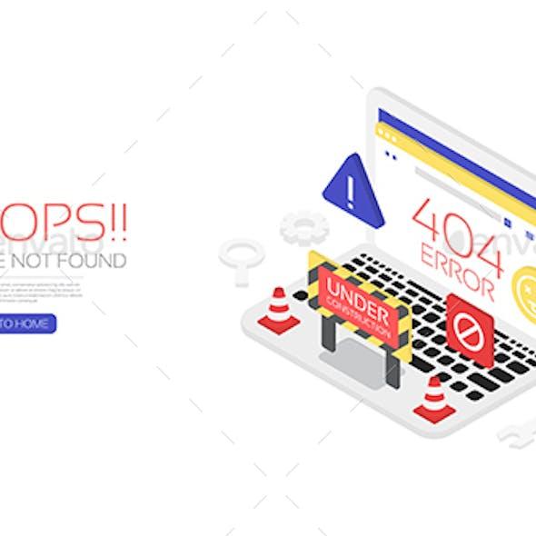Isometric 404 Error