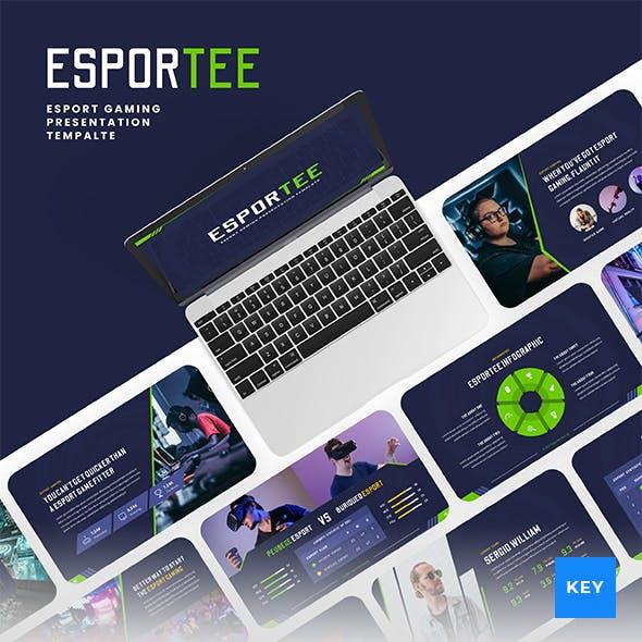 Esportee - Esport Gaming Keynote Presentation Template