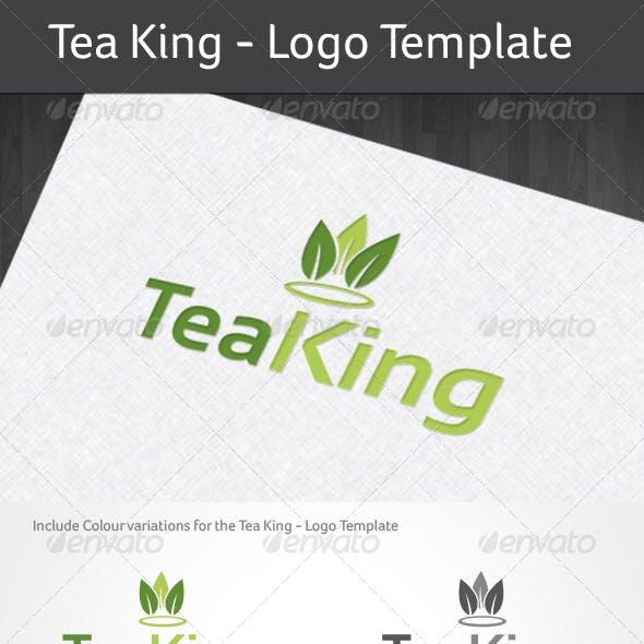 Tea King - Logo Template