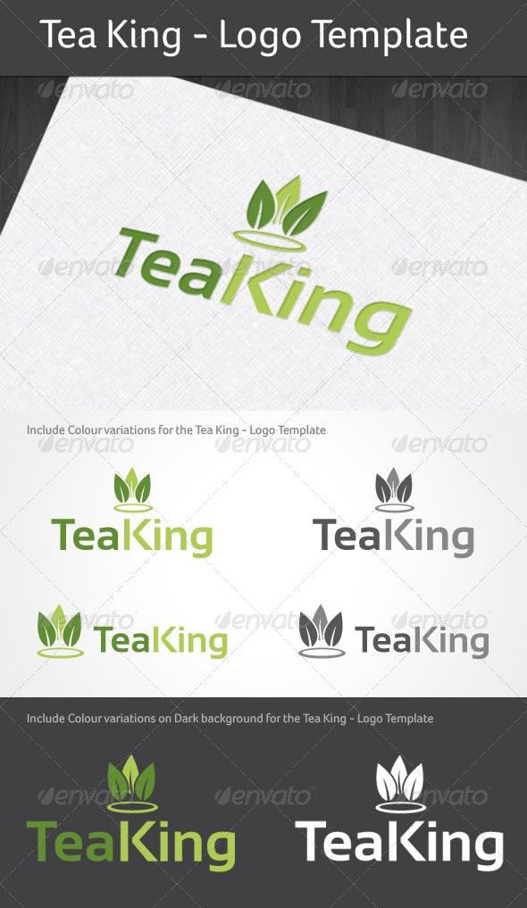 Tea King - Logo Template - Logo Templates