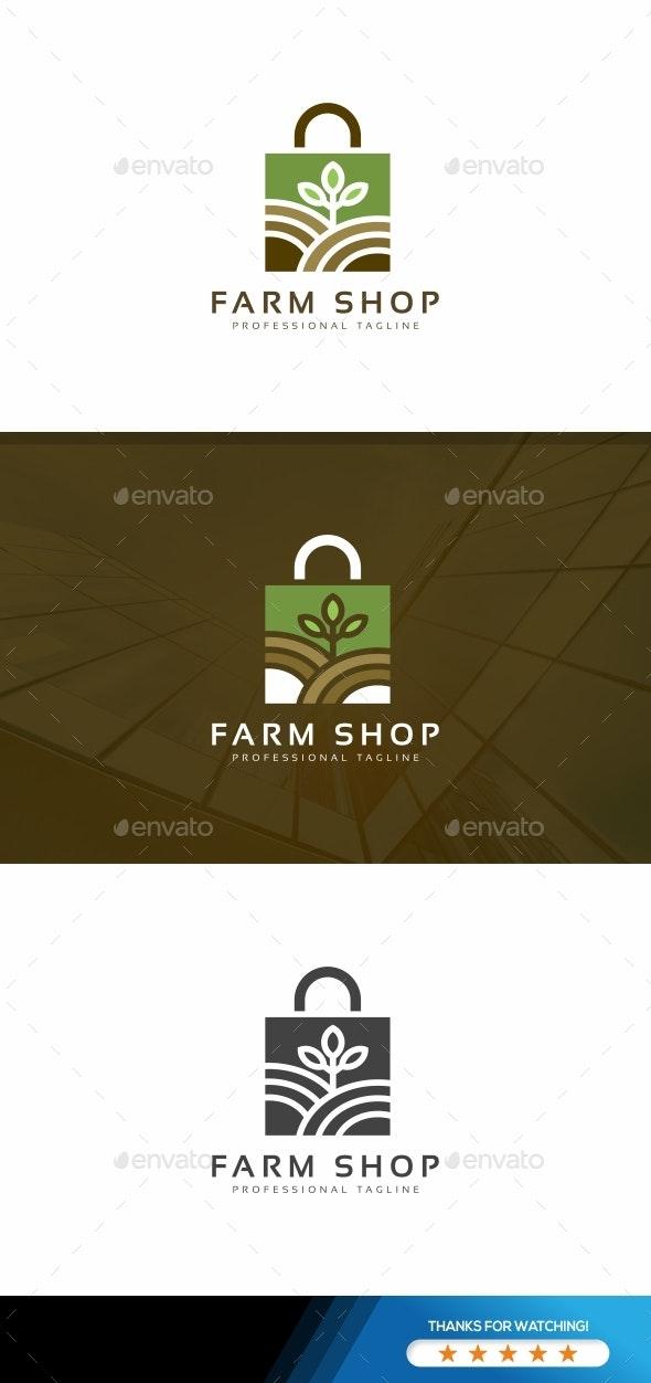 Farm Shop Logo - Nature Logo Templates