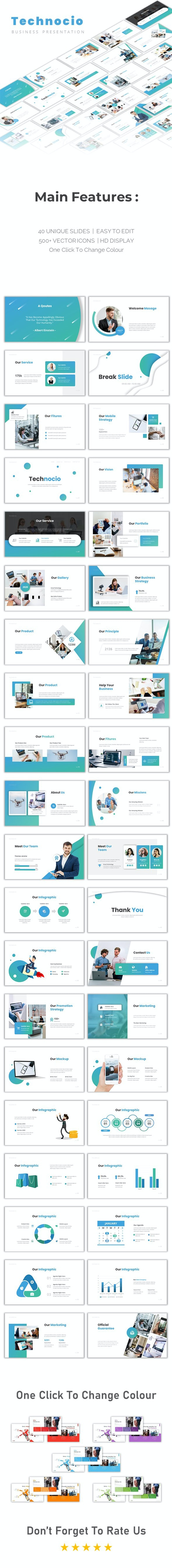 Technocio Google Slide - Google Slides Presentation Templates