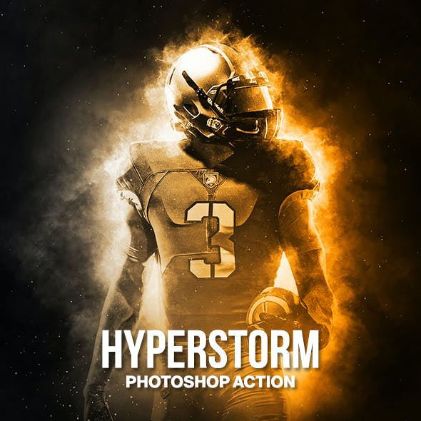 Hyperstorm Photoshop Action