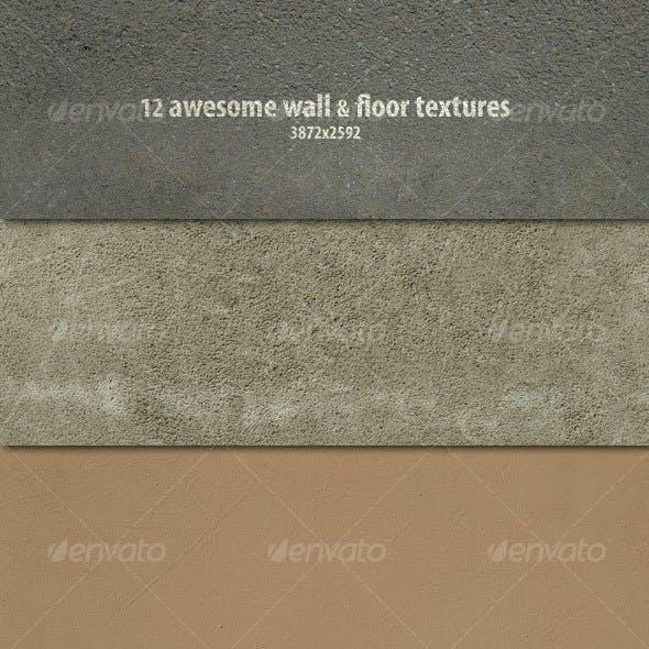 12 Wall & Floor Textures