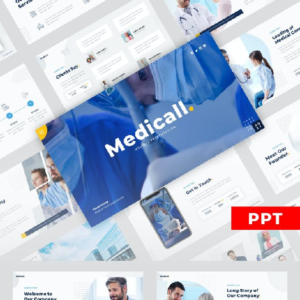 Medicall - Medical Care Powerpoint Templates