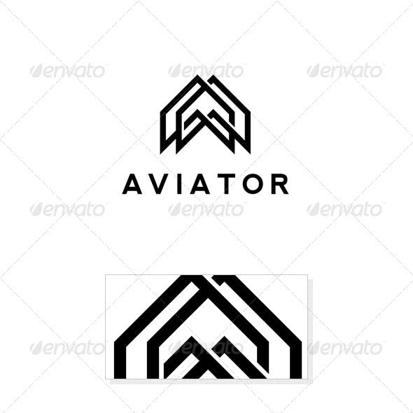 Aviator Logo Template