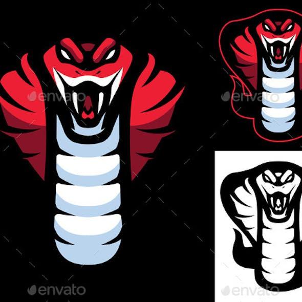 Red Cobra Mascot