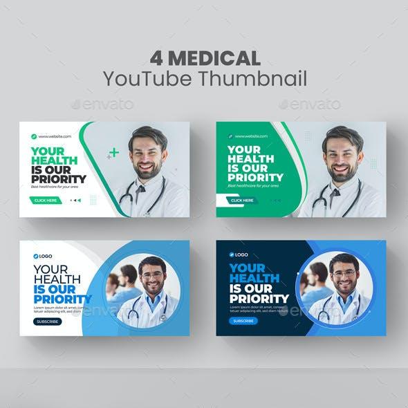 Medical Healthcare YouTube Thumbnail