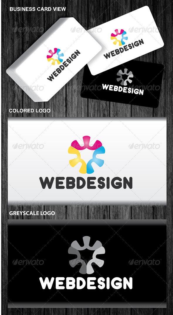 Web Design Logo - Symbols Logo Templates