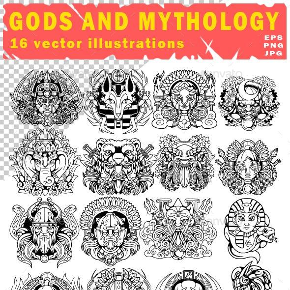 gods and mythology