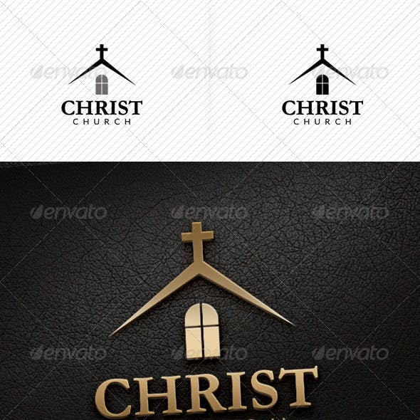 Christ Church Logo Template