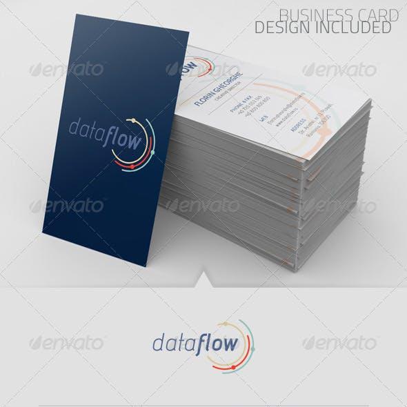 Data Flow Logo Template