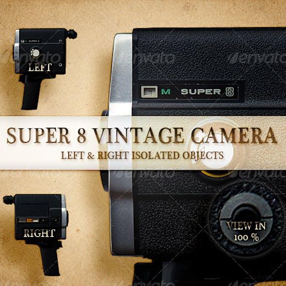 Super 8 Vintage Camera