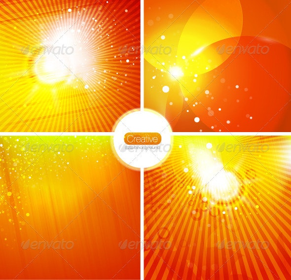 Energy Vector Backgrounds - Nature Conceptual
