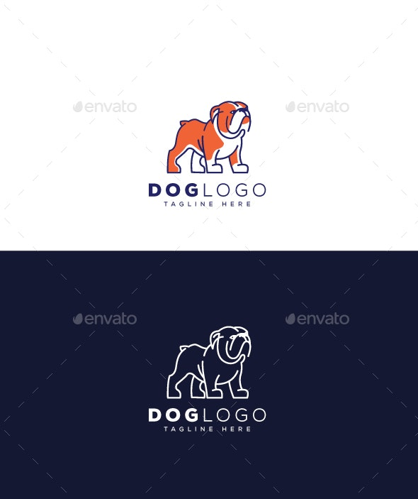Dog Logo - Animals Logo Templates