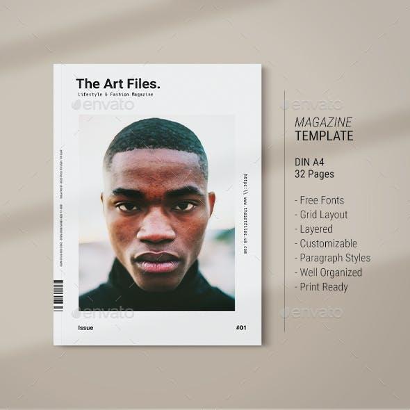 Magazine Template | Art Files
